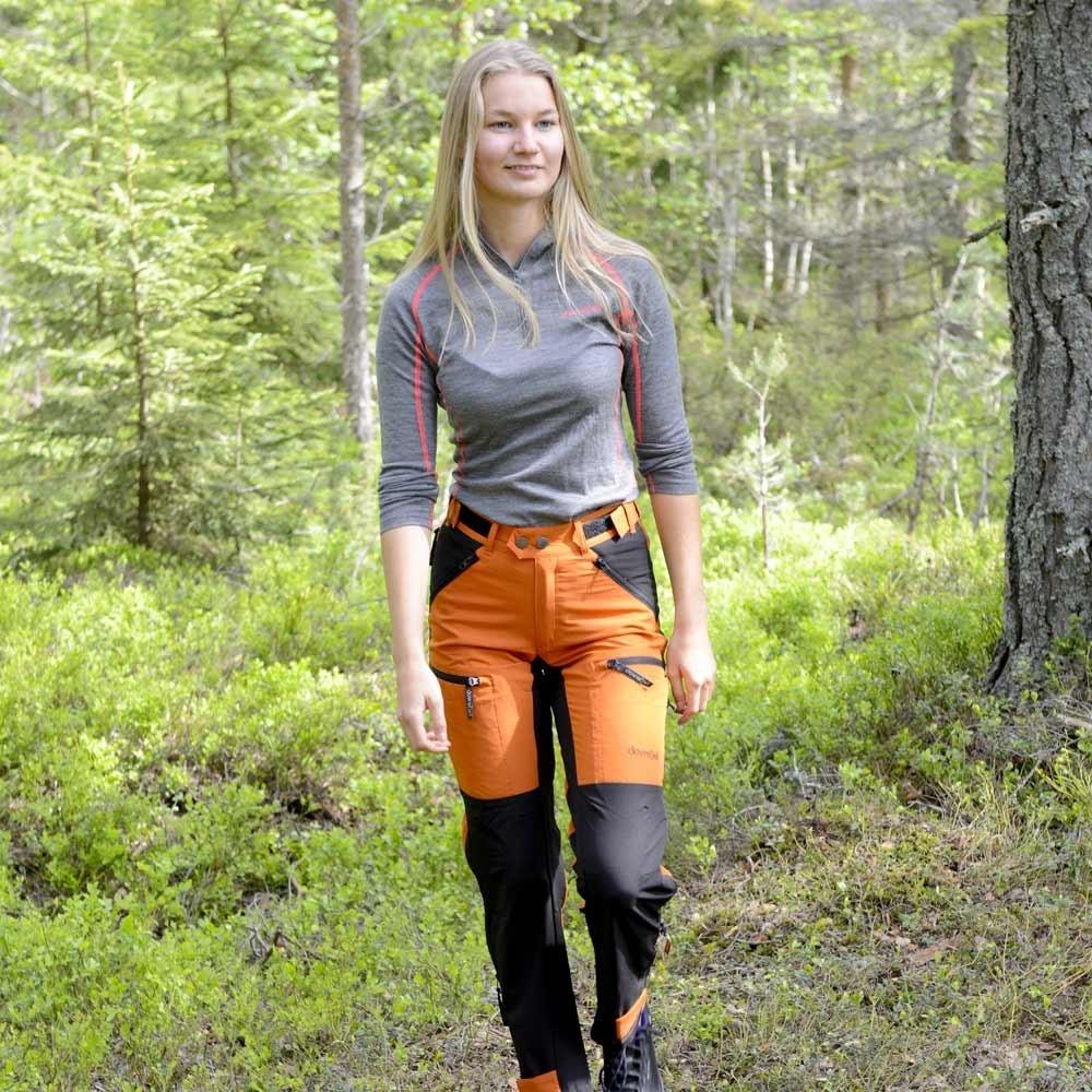 Dovrefjell Custom Fit bukse, Sunset Orange til dame | Jakt
